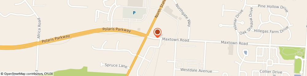 Route/map/directions to Al's Towing, 43082 Westerville, 6201 Maxtown Rd