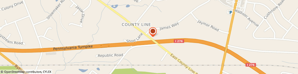 Route/map/directions to Ann Spangler - State Farm Insurance Agent, 19006 Huntingdon Valley, 609 County Line Road
