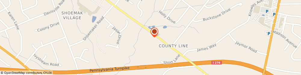 Route/map/directions to The Goddard School, 19006 Huntingdon Valley, 1820 County Line Road