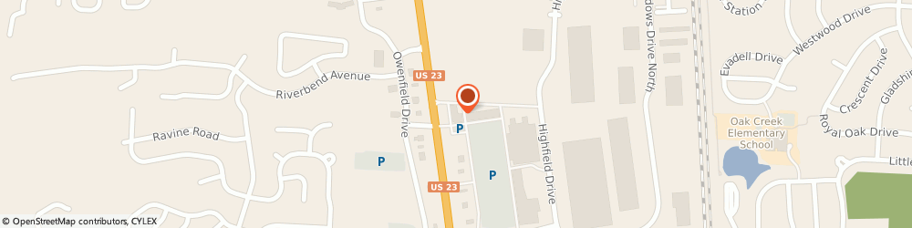 Route/map/directions to AT&T Store, 43035 Lewis Center, 8601 Columbus Pike