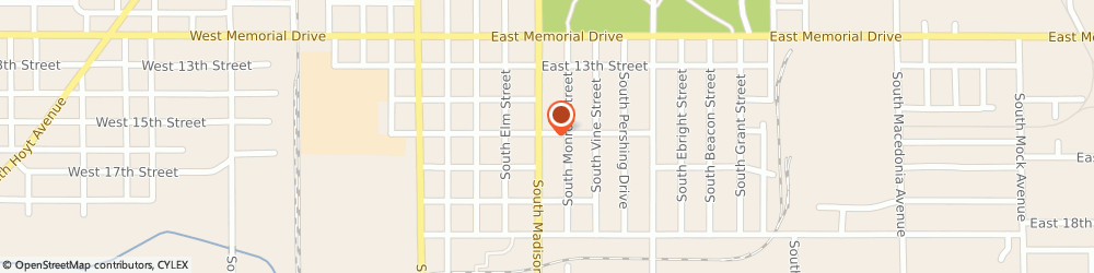 Route/map/directions to Burger King, 47302 St. Muncie, 2200 S Madison