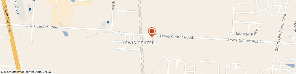 Route/map/directions to Farmers Insurance - Paul Marchio, 43035 Lewis Center, 1550 Lewis Center Rd