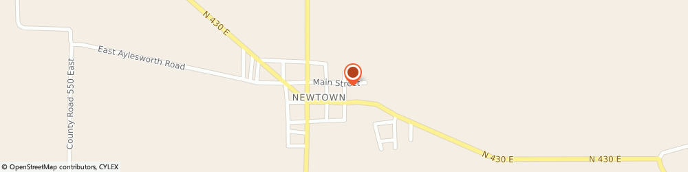 Route/map/directions to Great Western Bank Newtown ATM, 64667 Newtown, 101 S Main St
