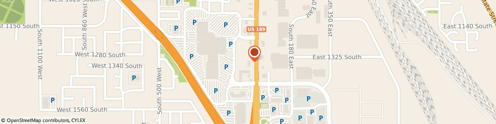 Route/map/directions to T-Mobile, 84601 Provo, 1316 South University Avenue