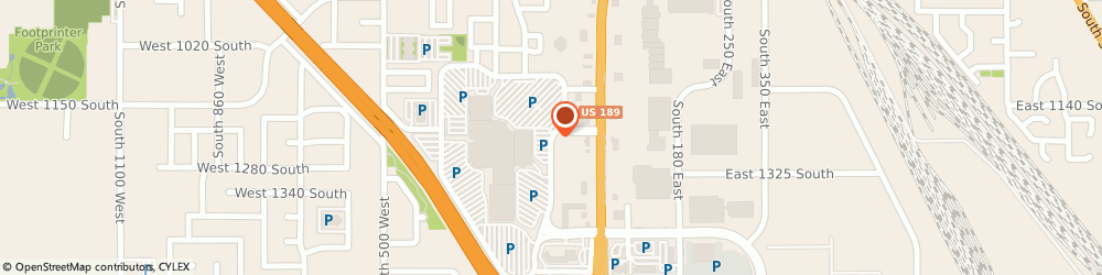 Route/map/directions to Regis Salons, 84601 Provo, 1200 Towne Centre Blvd # 2116