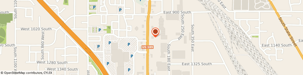 Route/map/directions to CHUCK-A-RAMA, 84601 Provo, 1081 South University Avenue