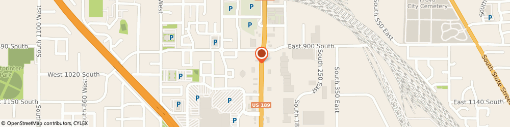 Route/map/directions to Discount Tire, 84601 Provo, 972 S. University Ave