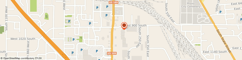 Route/map/directions to Les Schwab Tire Ctr, 84601 Provo, 965 S University Ave