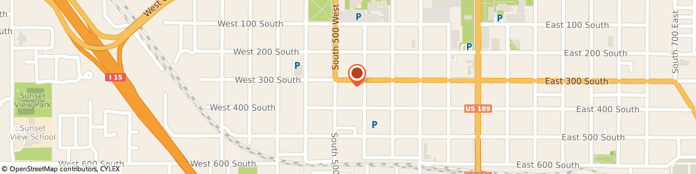 Route/map/directions to GCR Tires, 84601 Provo, 461 West 300 South