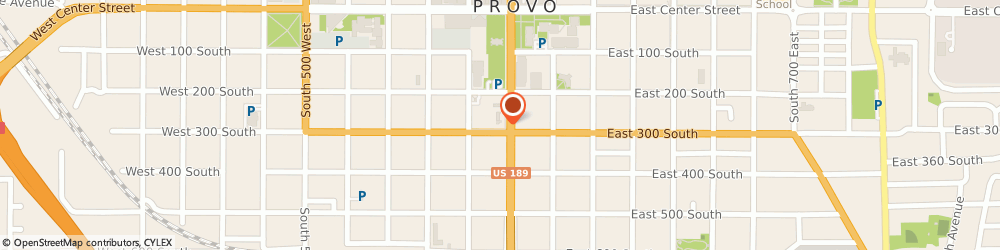 Route/map/directions to Autocraft, 84601 Provo, 298 SOUTH UNIVERSITY AVENUE