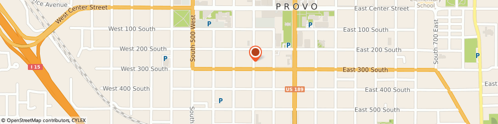 Route/map/directions to 7-Eleven, 84601 Provo, 222 West 300 South