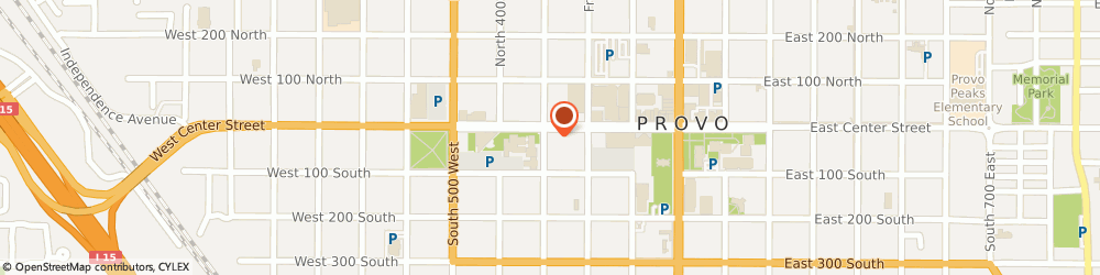 Route/map/directions to RE/MAX Provo, 84601 Provo, 295 W. Center St.