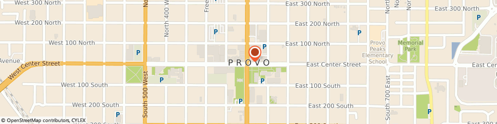 Route/map/directions to SUPERCUTS, 84604 Provo, 2255 N University Pkwy Ste 11