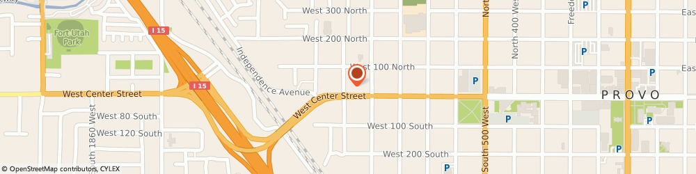 Route/map/directions to 7-Eleven Food Store, 84601 Provo, 980 W CENTER ST