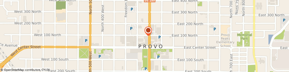 Route/map/directions to Atm Bremer Bank, 84601 Provo, 75 N University