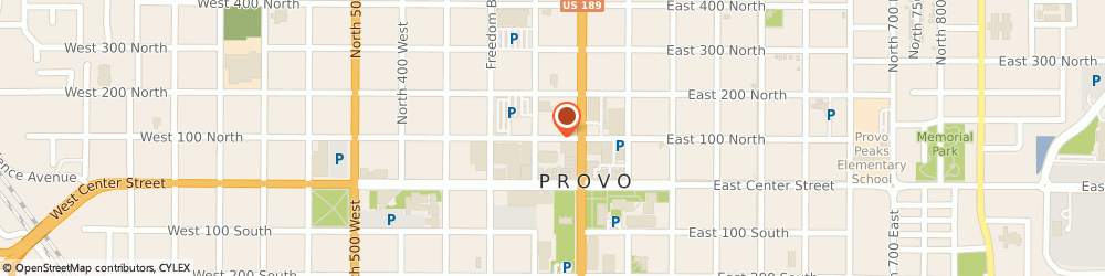 Route/map/directions to Rescue Rooter, 84601 Provo, 75 E 100 N