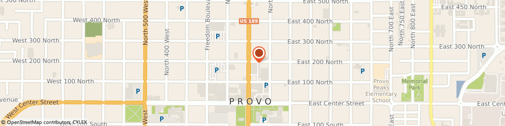 Route/map/directions to Atm Bremer Bank, 84601 Provo, 180 N University #100