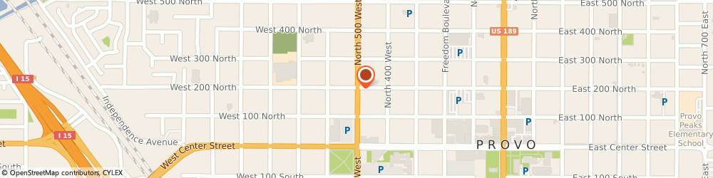 Route/map/directions to Checker O'reilly Auto Parts, 84601 Provo, 197 North 500 West