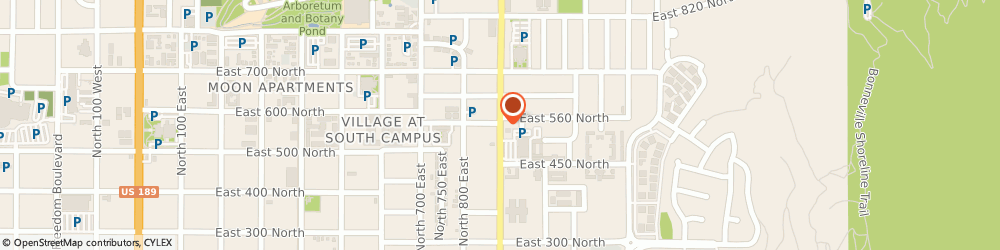 Route/map/directions to Little Caesars Pizza, 84606 Provo, 496 NORTH 900 EAST