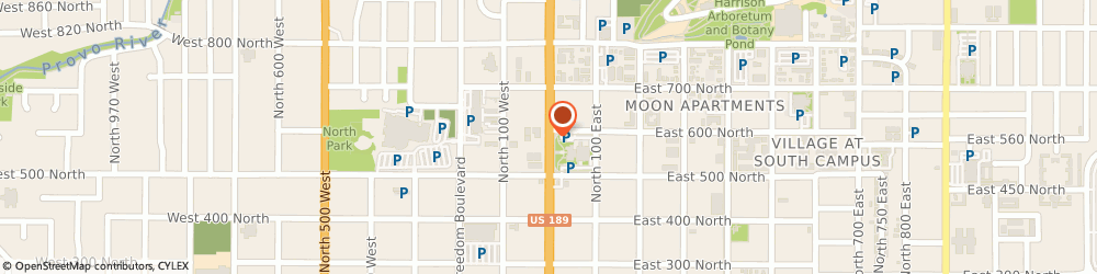 Route/map/directions to Allied, 84601 Provo, 585 S. University Ave