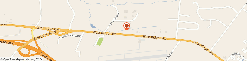 Route/map/directions to Sylvan Learning Center, 19464 Pottstown, 3277 W RIDGE PIKE # 302