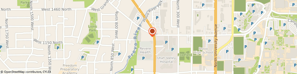 Route/map/directions to 7-Eleven Food Stores Division Of The Sthlnd Crprtn, 84604 Provo, 545 Columbia Lane