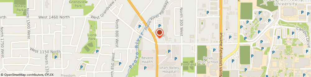 Route/map/directions to Little Caesars Pizza, 84604 Provo, 1260 N. State St.