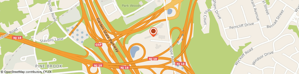 Route/map/directions to Red Roof Inns - Tinton Falls, 07724 Eatontown, 11 Centre Plaza