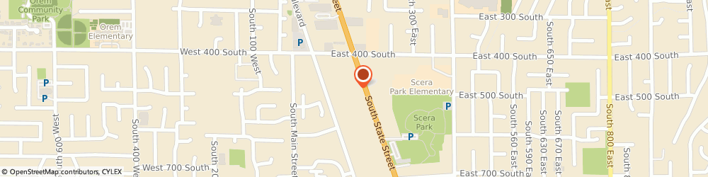 Route/map/directions to Good Earth Natural Foods, 84058 Orem, 500 SOUTH STATE STREET