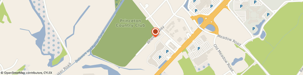 Route/map/directions to Princeton Country Club, 08540 Princeton, 1 WHEELER WAY
