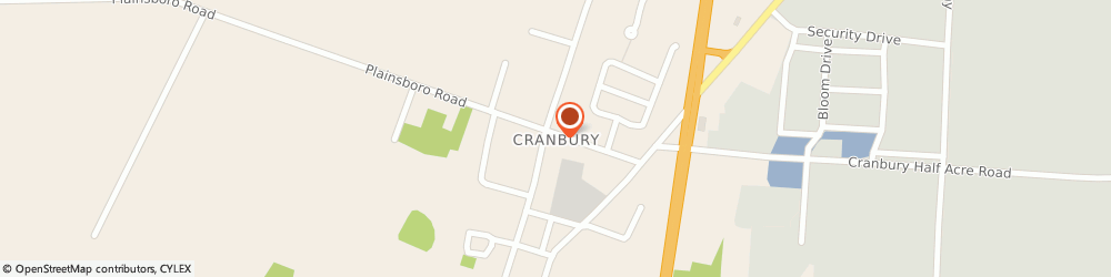 Route/map/directions to U-Haul Co., 08512 Cranbury, 2681 STATE HWY NO 130