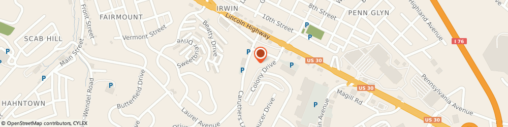 Route/map/directions to Calvary Baptist Church, 15642 Irwin, 101 Caruthers Ln