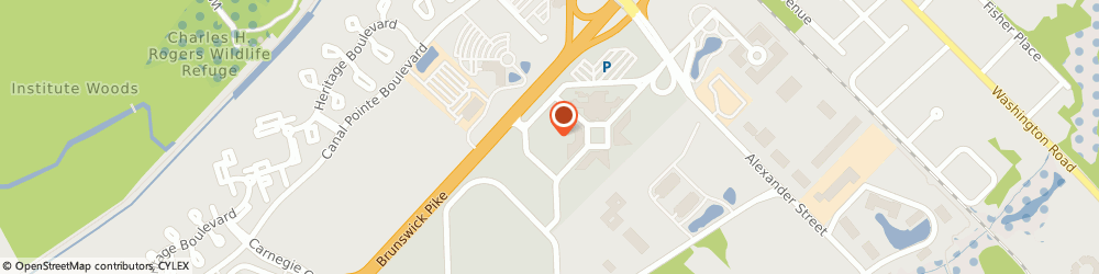 Route/map/directions to GE Appliance Repair, 08540 Princeton, 101 Carnegie Ctr
