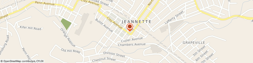 Route/map/directions to Knights Of Columbus 1222, 15644 Jeannette, 305 CLAY AVENUE