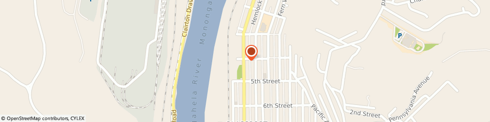 Route/map/directions to The Dart Shoppe, 15045 Glassport, 403 Monongahela Ave.