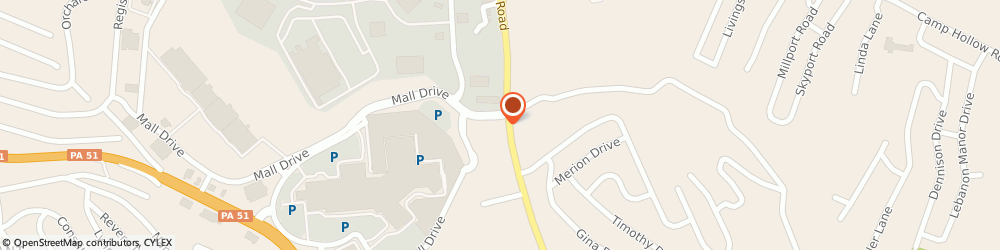 Route/map/directions to Regis Salons, 15123 West Mifflin, 3075 Clairton Rd