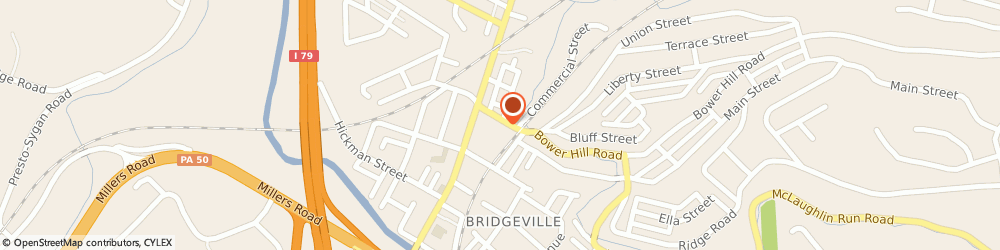 Route/map/directions to Bridgeville Animal Hospital, 15017 Bridgeville, 420 BOWER HILL RD