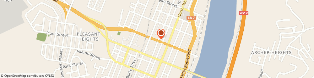 Route/map/directions to Mediclaims Management, 43952 Steubenville, 501 WASHINGTON ST