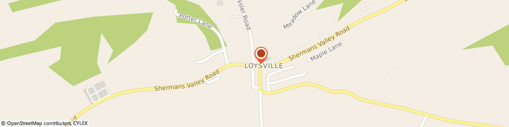Route/map/directions to Ray M. Bitting Insurance Agency, 17047 Loysville, 3531  Shermans Valley Rd