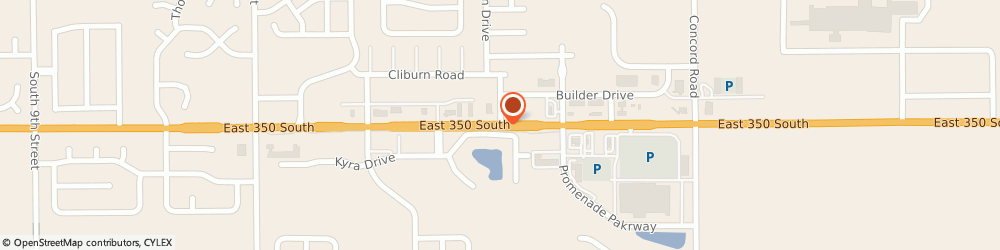 Route/map/directions to Atm Great Western Bank, 47909 Lafayette, 2347 East 350 Sout