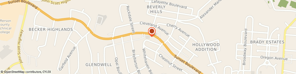 Route/map/directions to STATE FARM Schawn Conner, 43952 Steubenville, 2700 Sunset Blvd