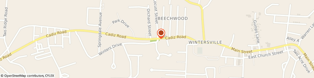 Route/map/directions to State Farm Insurance, 43953 Steubenville, 300 Cadiz Rd