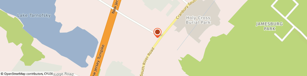 Route/map/directions to Citibank ATM, 08831 Jamesburg, 885 Cranbry S Rivr
