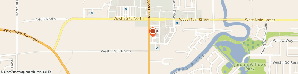 Route/map/directions to US BANK, 84045 Saratoga Springs, 1320 REDWOOD ROAD