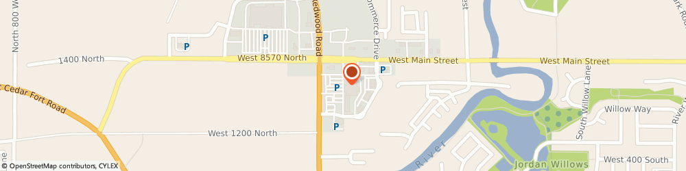 Route/map/directions to Citibank ATM, 84045 Saratoga Springs, 1320 North Redwood Road