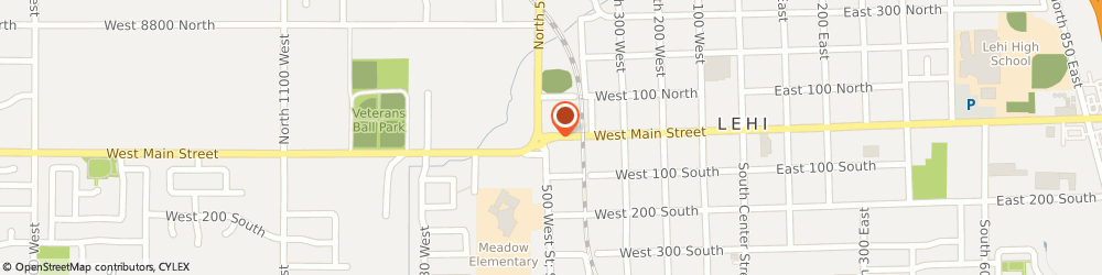 Route/map/directions to Salacia Farms, 84043 Lehi, 2402 W MAIN ST