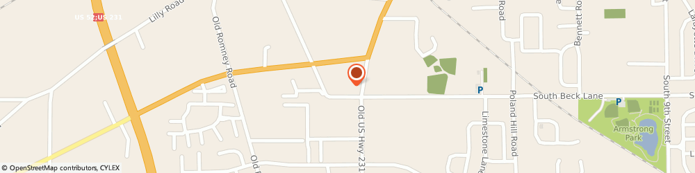 Route/map/directions to PNC BANK, 47905 Lafayette, 2806 Us Highway 231 S