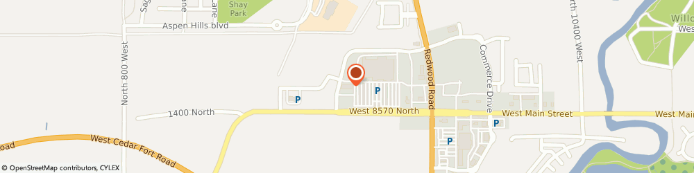 Route/map/directions to UNITED STUDIOS OF SELF DEFENSE, 84045 Saratoga Springs, 1458 Commerce Dr