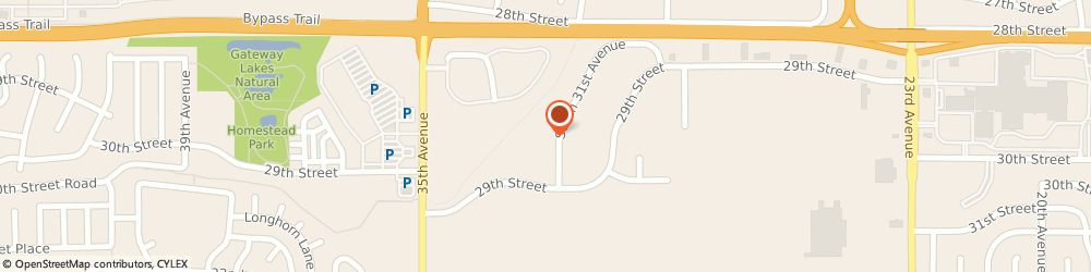 Route/map/directions to Desktop Design Graphics, 80631 Greeley, 2881 S 31St Ave # 5