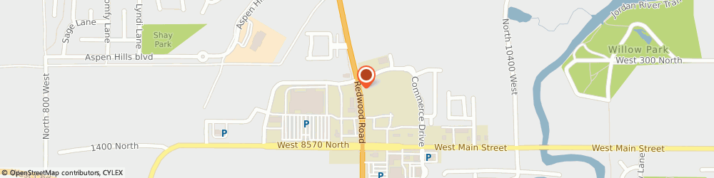Route/map/directions to Navy Federal Credit Union, 84043 Saratoga Springs, 1543 North Redwood Roa